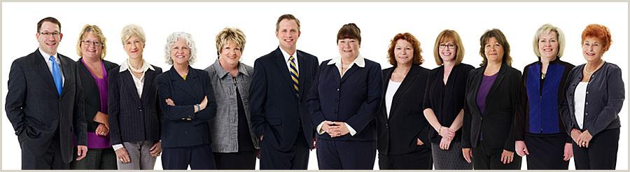 Colbert & Grebas Staff Group Photo